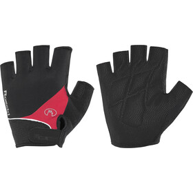 Roeckl Napoli Guantes, black/red